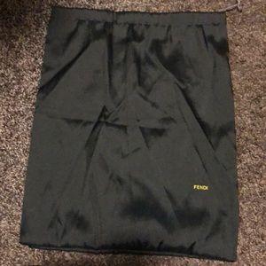 Authentic Fendi dust bag